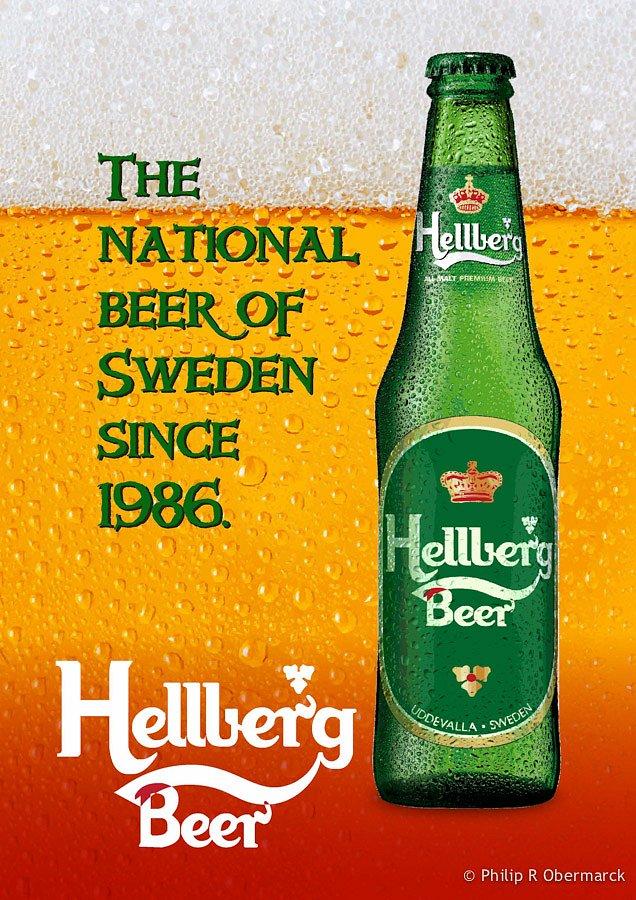 Hellberg Beer Poster