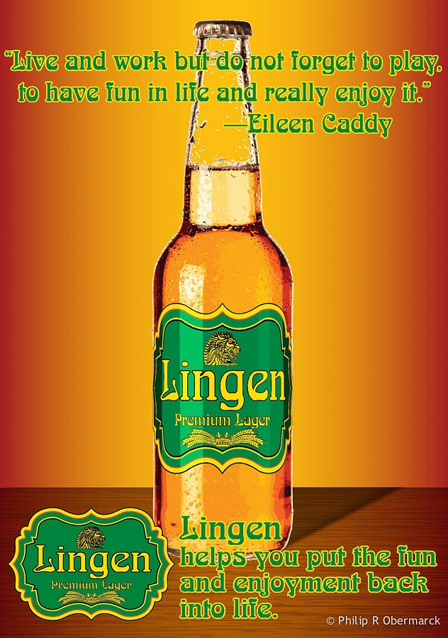 Lingen Beer Poster